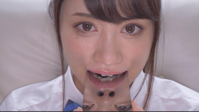 桐山結羽│歯・口内・舌フェチ動画③